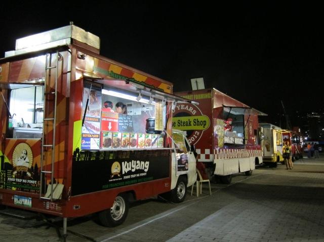 Manila Food Trucks at Beer Festival
