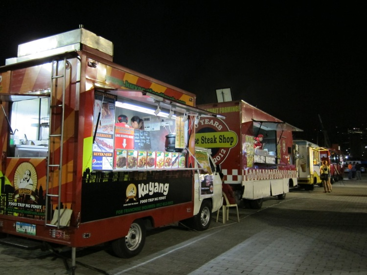 Manila Food Trucks at Beer Festival