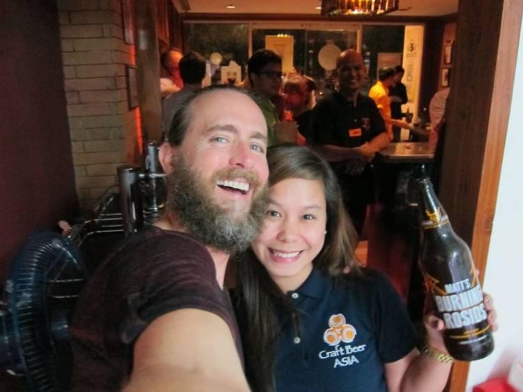 Craft Beer Icon, Greg Koch, Visits Manila