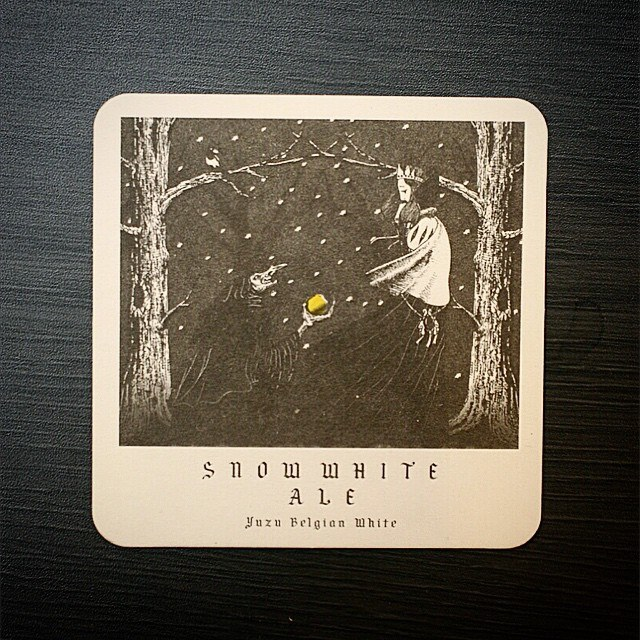 Snow White Ale. Pic taken from Craftbros Facebook page. (https://www.facebook.com/craftbros.co.kr?fref=ts&ref=br_tf)