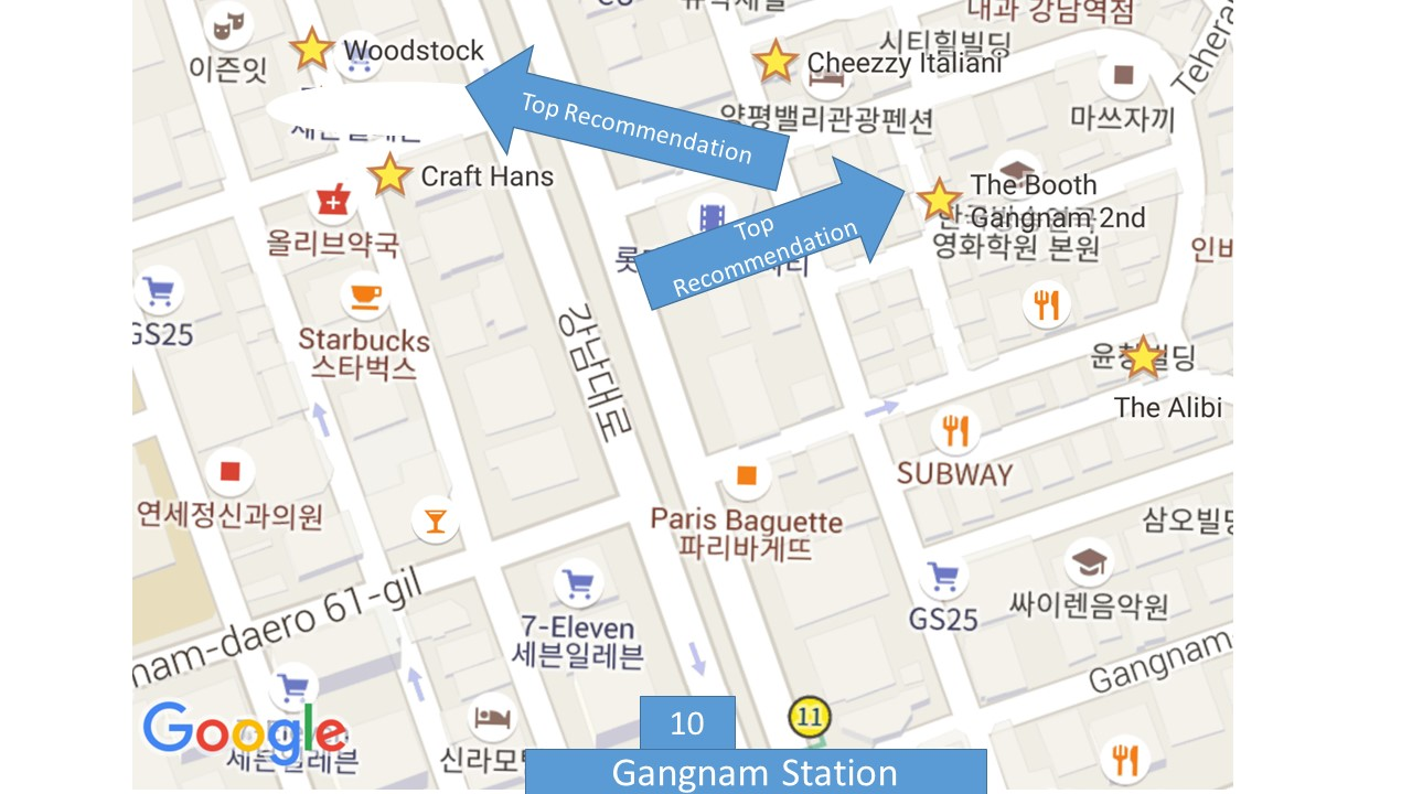 Seoul Gangnam Craft Beer Asia