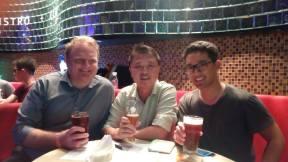 L-R: David, Khor Kar, Davey.
