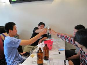 Beer Tasting Druggists 3