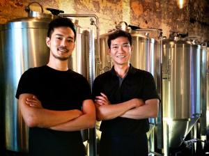 Ivan(left) and Brewmaster Joey(right)