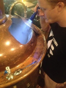 Yardley Brothers - Brewer Closeup