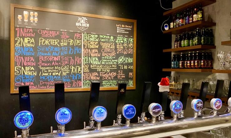 Nipa Brew, makati, manila, Philippines, craft beer, professors brew