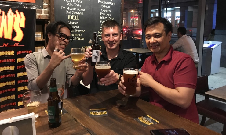 Bottle shop, makati, BGC, craft beer, manila, Philippines, rogue, stone brewing