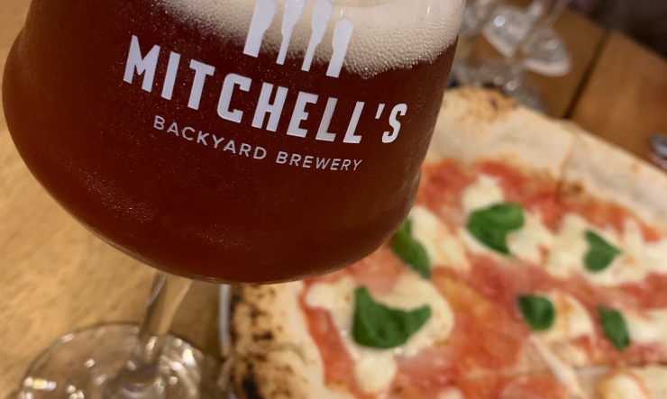 Pizza, manila, Philippines, craft beer, Mitchell's backyard brewery